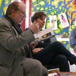 Alain Serres - Rue du Monde, rencontre lecture, médiathèque Pierre-Fanlac - Ph. Bernard Costes