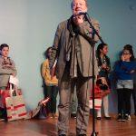 Alain Serres, lecture au Prix Expoésie Jeunesse - Ph. K. Bénard