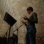 Anne-Laure Pigache, concert soirée Bouche à Oreille, château de Neuvic - Ph. K. Bénard