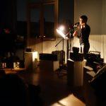 Anne-Laure Pigache et Julie-Marie Rollet, performance à l'Espace Britten - Ph. K. Bénard