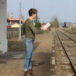 Anne-Laure Pigache, lecture Poésie Ville secrète - Ph. K. Bénard