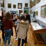 Atelier expoétique lycée Laure-Gatet, au MAAP - Ph. H. Brunaux