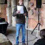 Fabrice Caravaca, lecture au MAAP - Ph. H. Brunaux