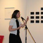 Gwenaëlle Rebillard, lecture à La Visitation - Ph. K. Bénard
