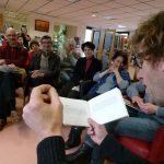 Lecture-rencontre de Rémy Checchetto à la médiathèque de Coulounieix-Chamiers - Ph. H. Brunaux