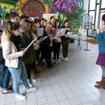 Lycée Pablo-Picasso, lecture à la médiathèque Pierre-Fanlac - Ph. H. Brunaux