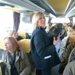 Martine Balout, le Bus de la Poésie, Poésie Ville secrète - Ph. H. Brunaux