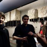 Samantha Barendson, Nicolas Vargas et équipe Expoésie, à Vesunna