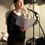 Samantha Barendson, lecture à Vesunna - Ph. K. Bénard
