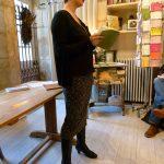 Samantha Barendson, lecture à la librairie Les Ruelles - Ph. K. Bénard