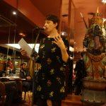 Samantha Barendson - performance Cercle de la Maison Close - Garden Ice Café - Ph. K. Bénard