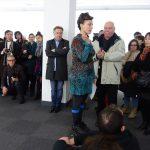 Valentina Traïanova - performance à L'app'Art - Ph. K. Bénard