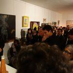 Vernissage expo Afrique au MAAP 10, Guy Lenoir (à gauche)- Ph. K. Bénard